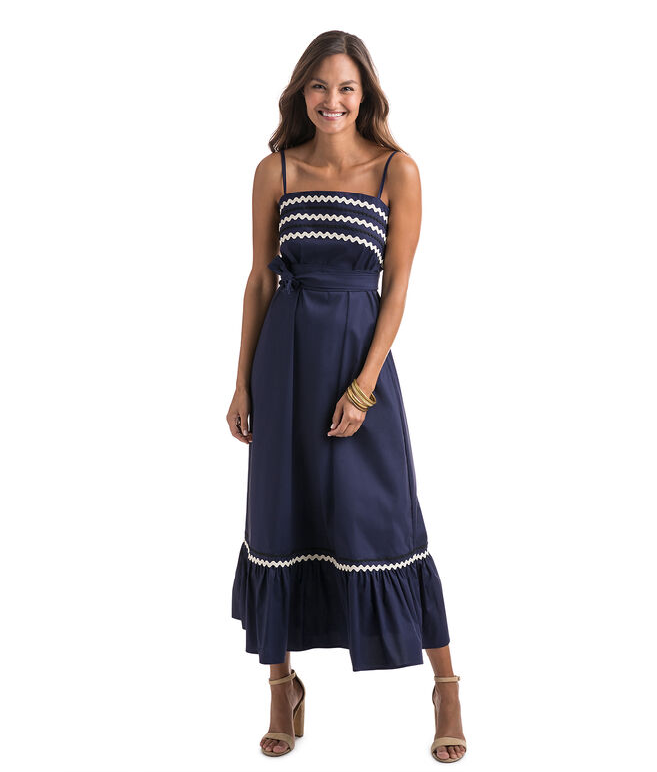 Ric Rac Maxi Dress