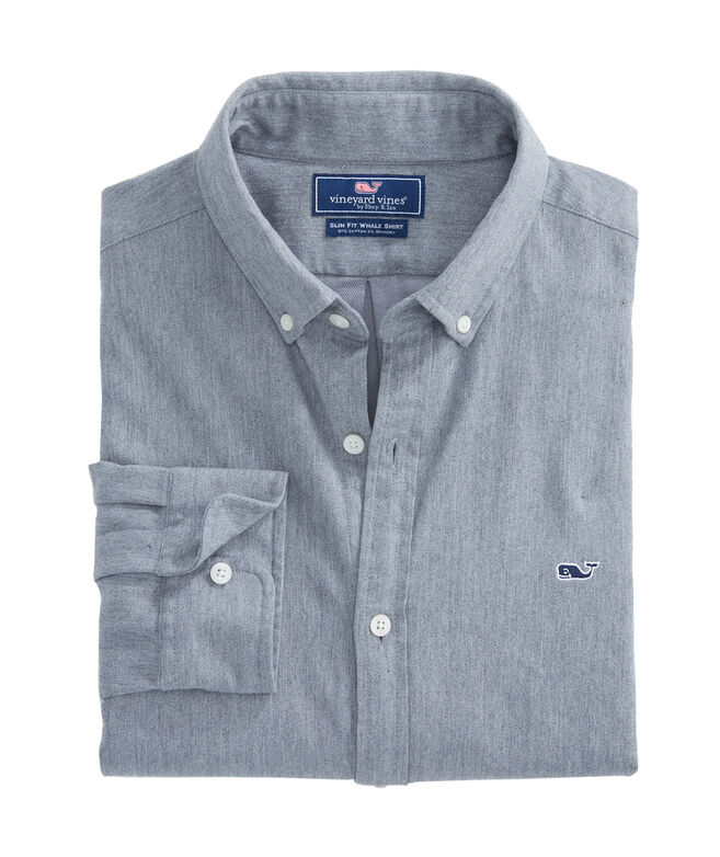 Crafts Field Flannel Slim Whale Shirt