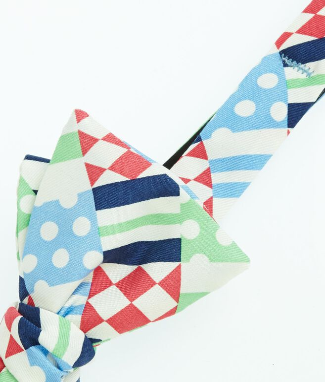 Derby Patchwork Bow Tie
