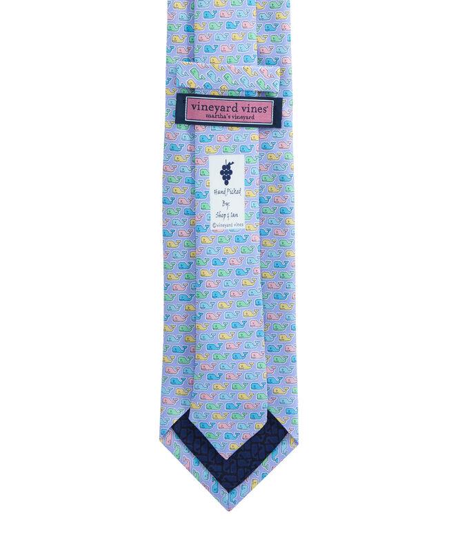 Pastel Whale Tie