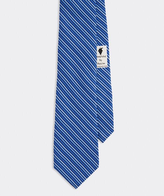 Ombre Stripe Printed Tie
