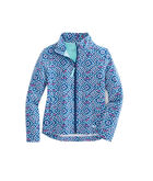 Girls Whale Tail Square Full-Zip