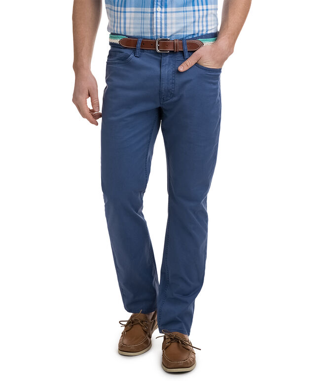 Stretch Twill 5 Pocket Pants