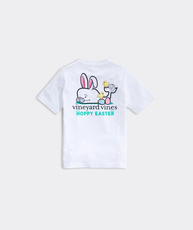 Boys' Hoppy Easter Whale Short-Sleeve Pocket Tee