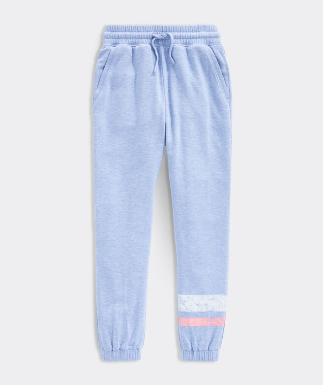Girls' Stripe Leg Dreamcloth Joggers