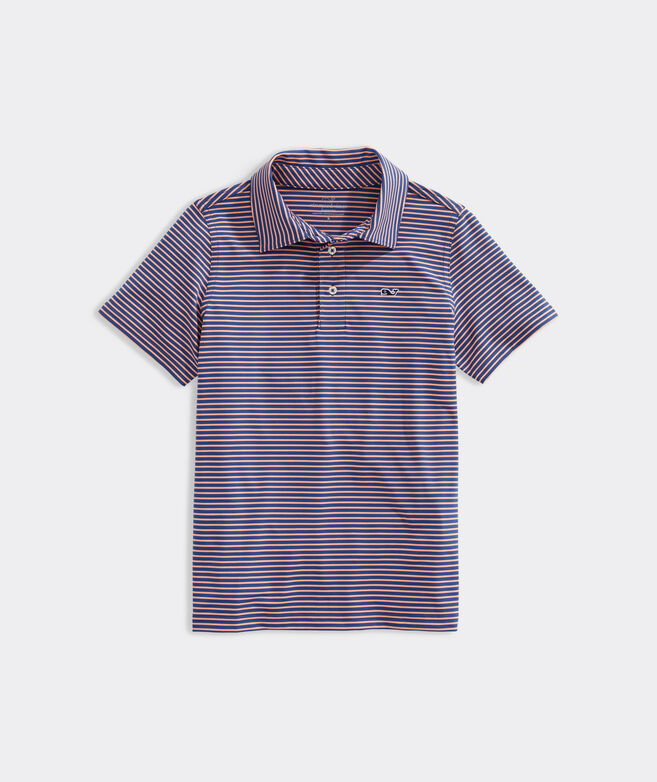 Boys' Bradley Stripe Sankaty Performance Polo