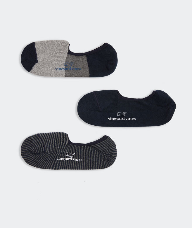Athletic No Show Sock 3-Pack