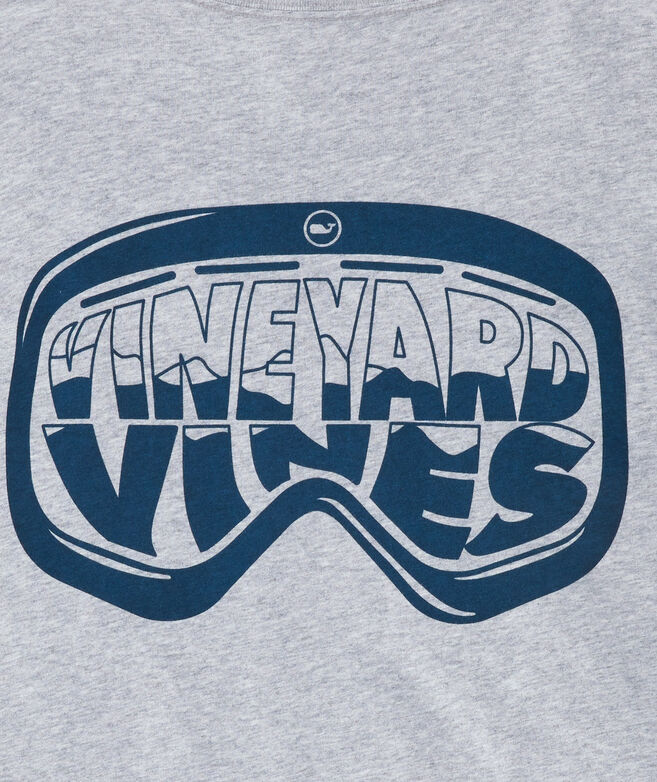 Ski Goggles Long-Sleeve Pocket Tee