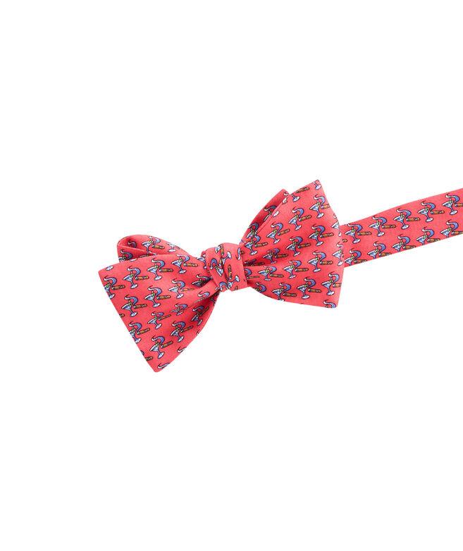 Martini & Cigar Bow Tie