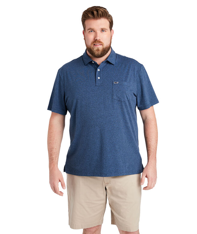 Big & Tall Solid Edgartown Polo