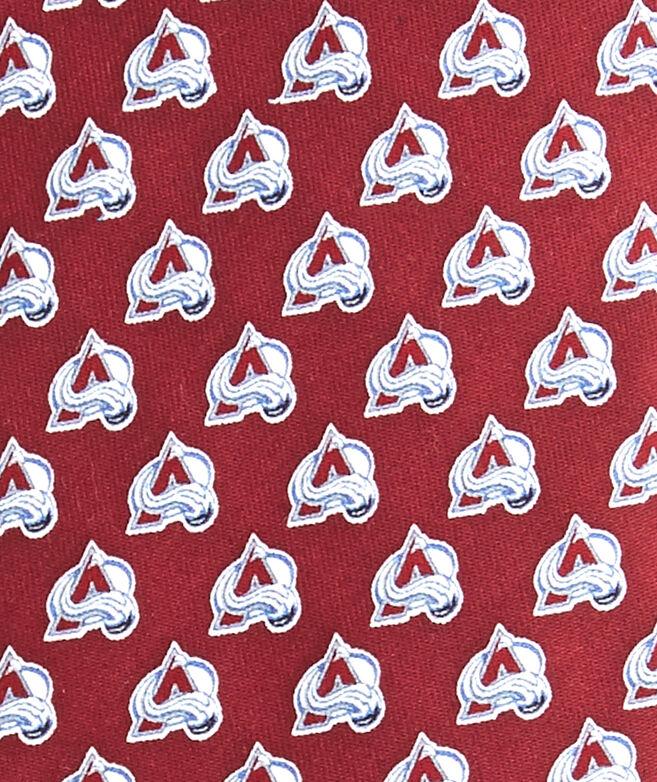 Colorado Avalanche Logo Tie
