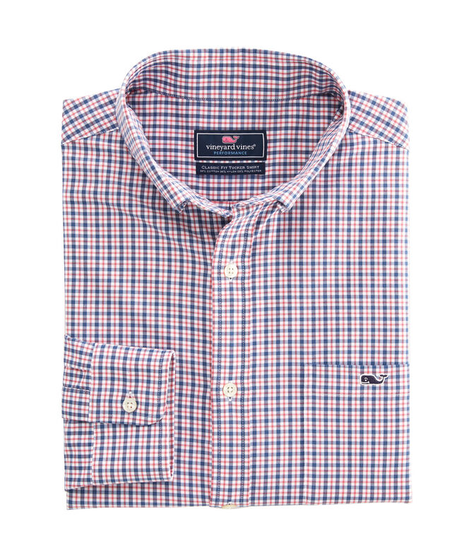 Big & Tall Classic Fit Auger Secret Performance Tucker Shirt