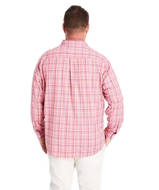 Big & Tall Classic Fit Bora Cotton Performance Murray Shirt