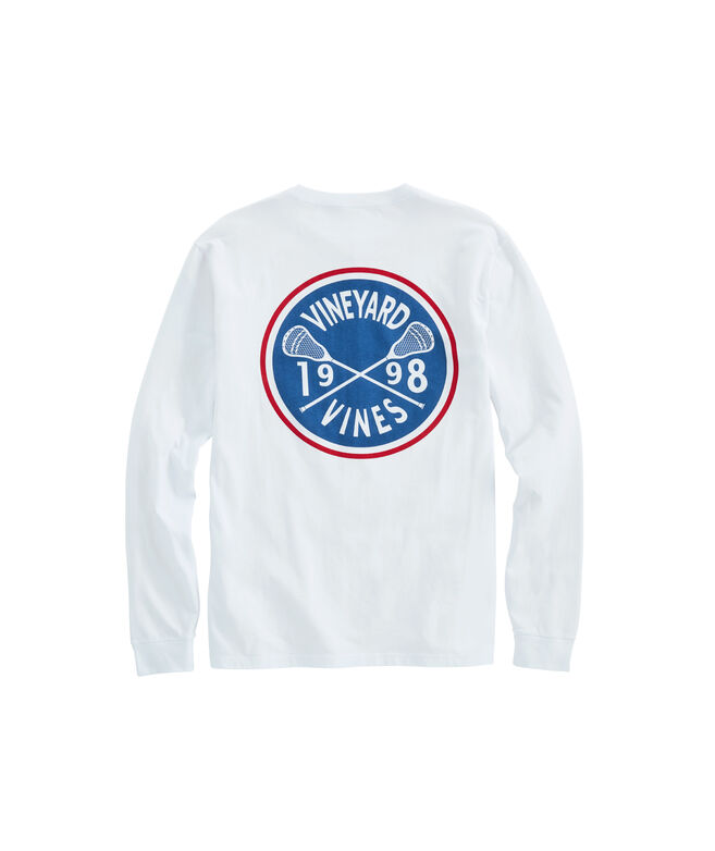 Lacrosse Crest Long-Sleeve Pocket T-Shirt