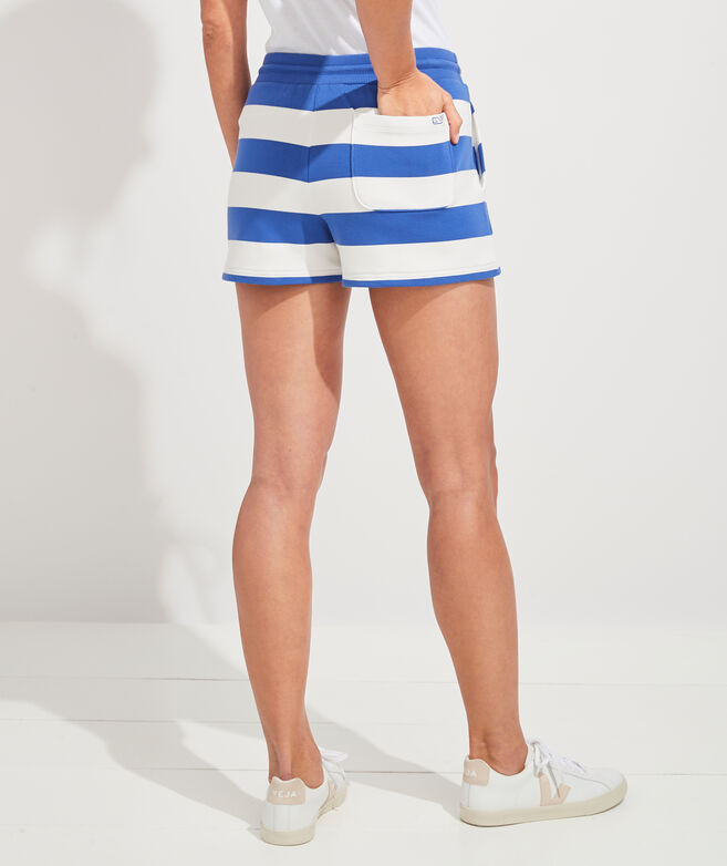 Dreamcloth Rugby Stripe Knit Shorts