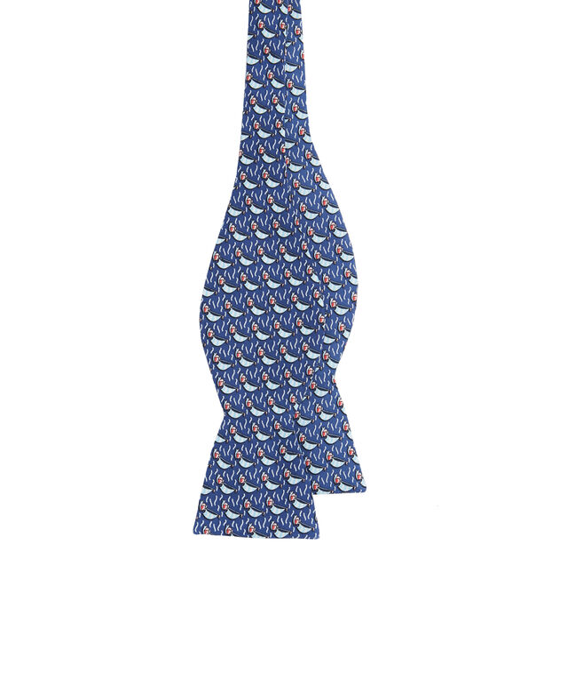 Sailboat Printed Bow Tie