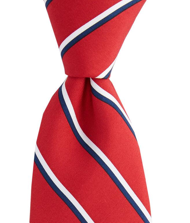 Boys Collegiate Stripe Tie
