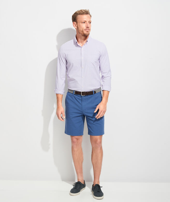 Slim Fit Starfish On-The-Go Performance Murray Button-Down Shirt