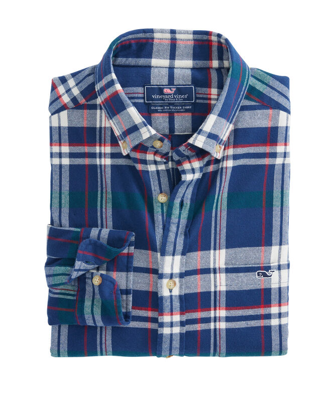 Sea Craft Flannel Classic Tucker Shirt