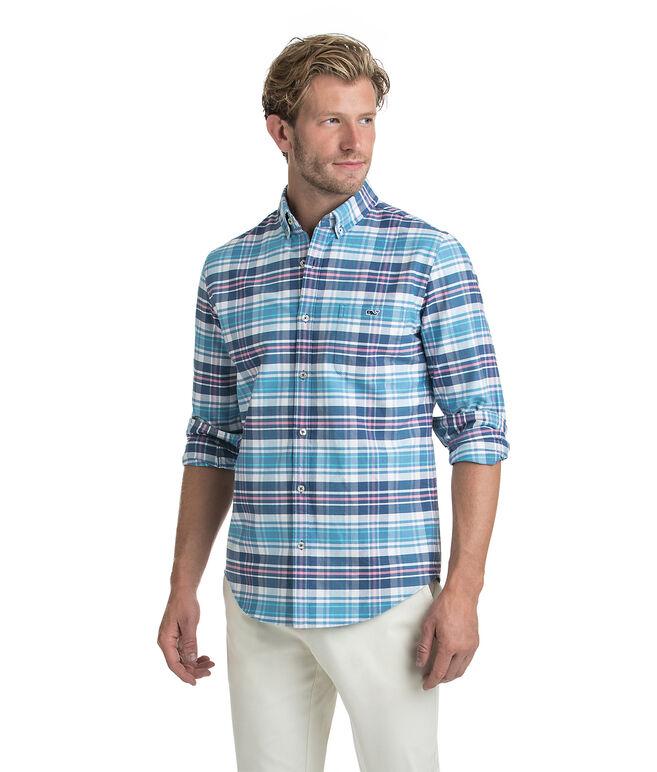 Fort Sumter Plaid Slim Tucker Shirt