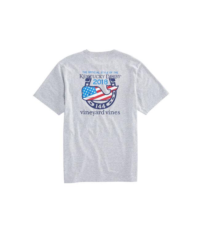 USA Kentucky Derby Logo Pocket T-Shirt