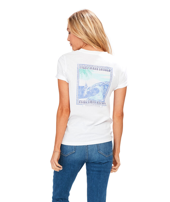 Every Wave Should Feel This Good Short-Sleeve Island Tee