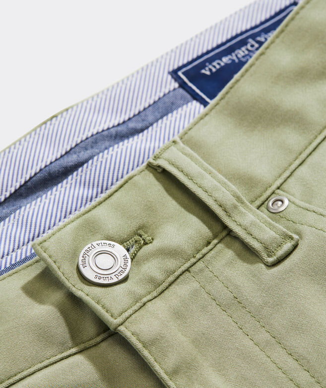 Leeward Luxe 5-Pocket Pants