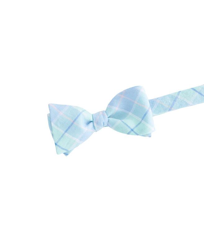 Ocean Bay Plaid Shirting Bow Tie