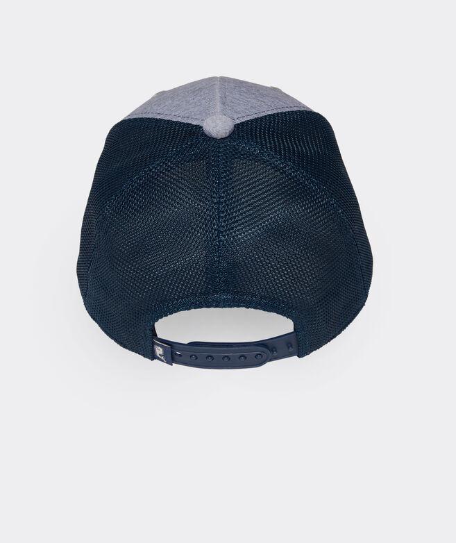 Boys' Heathered Whale Dot Performance Trucker Hat