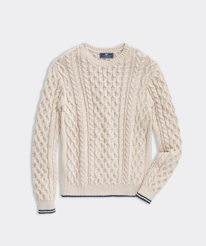 Sconset Fisherman Crewneck Sweater