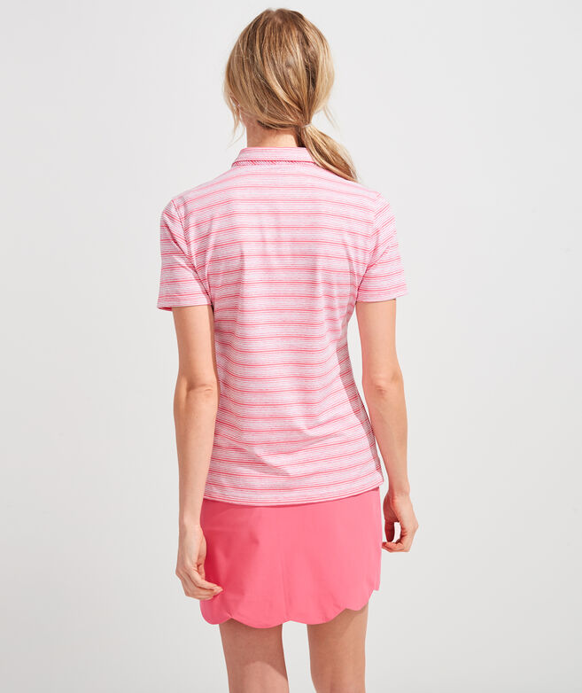 Sand Dune Stripe Polo