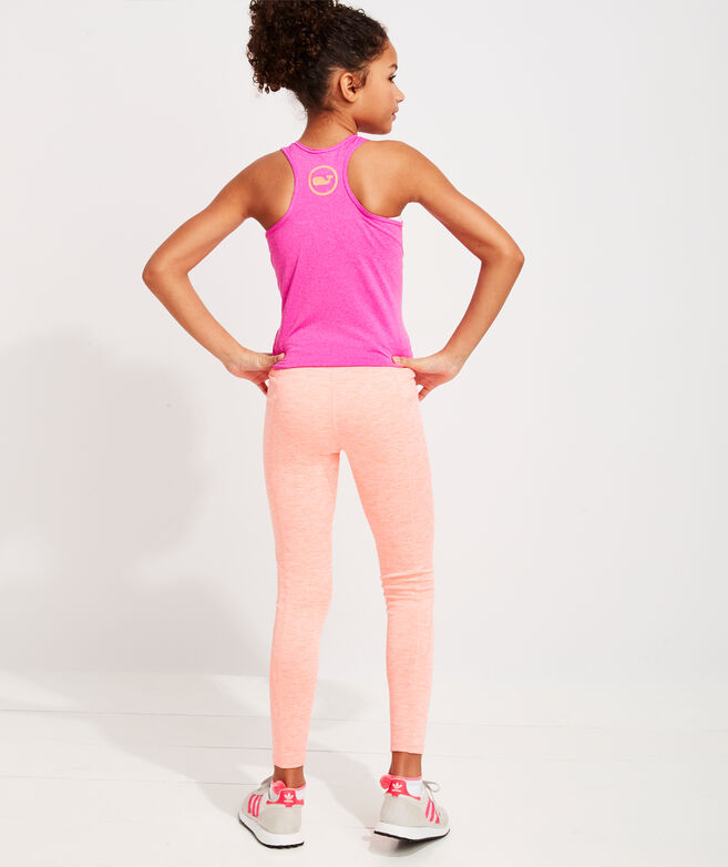 Girls' Brushed Terry Leggings