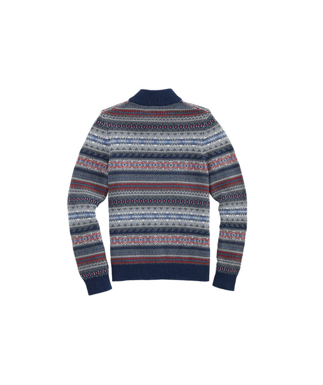 Boys Fair Isle Sweater