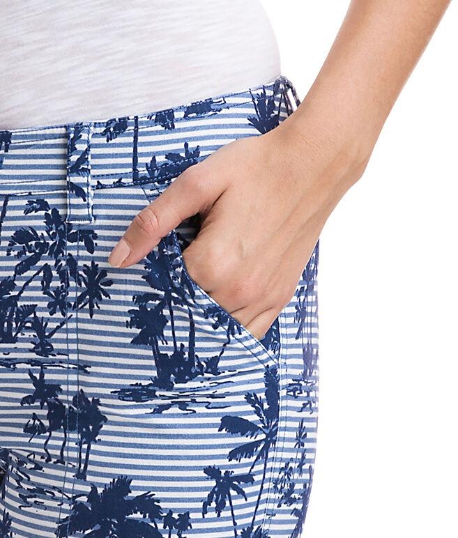 Island Scene Skinny Cargo Pants
