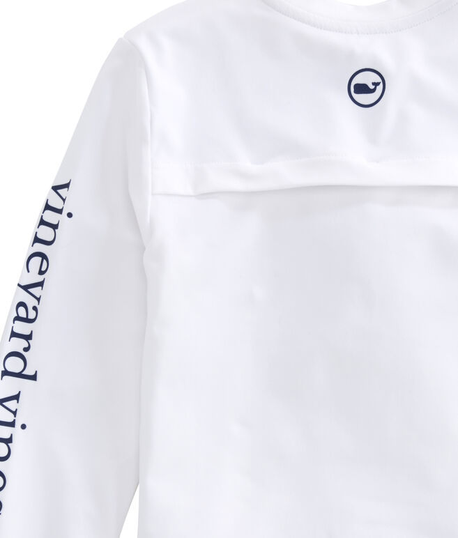 Boys Long-Sleeve Performance Vented Boating T-Shirt