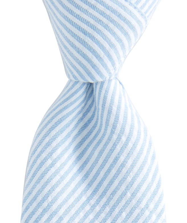 Kennedy Stripe Patchwork Skinny Tie