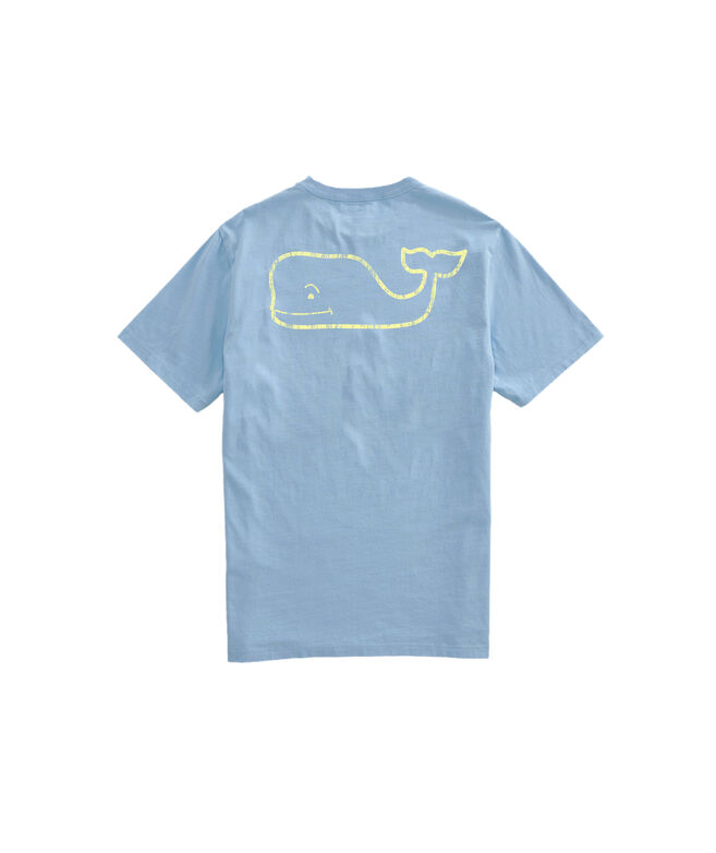 OUTLET Men's Vintage Whale Short-Sleeve Pocket T-Shirt