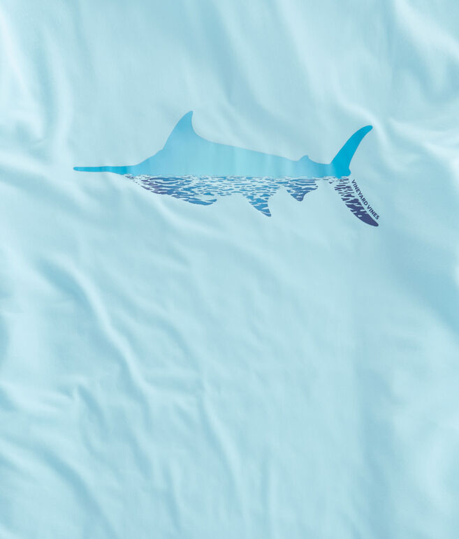 Long-Sleeve Marlin Reflection Performance T-Shirt