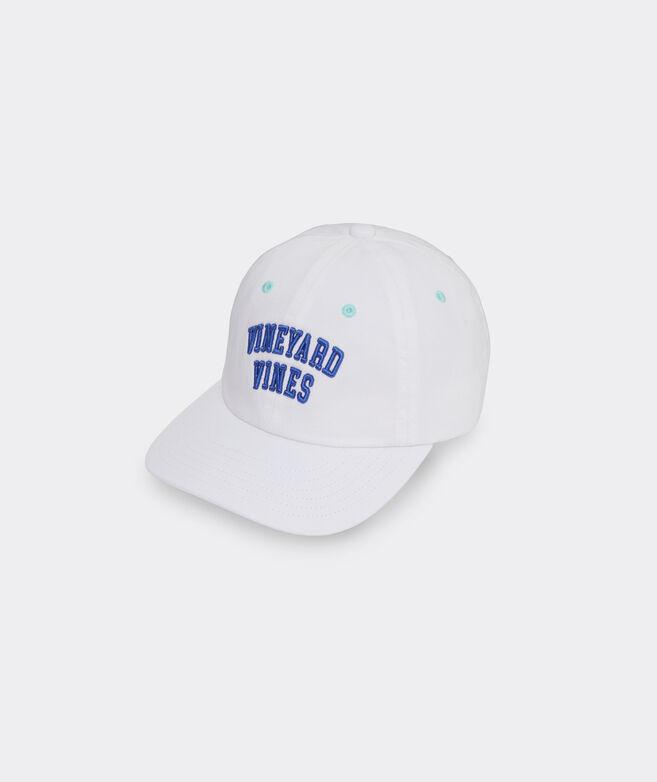 Girls' Beachy Stripe Logo Baseball Hat