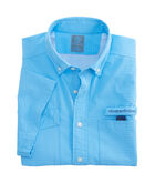 Short-Sleeve Brendal Solid Harbor Shirt