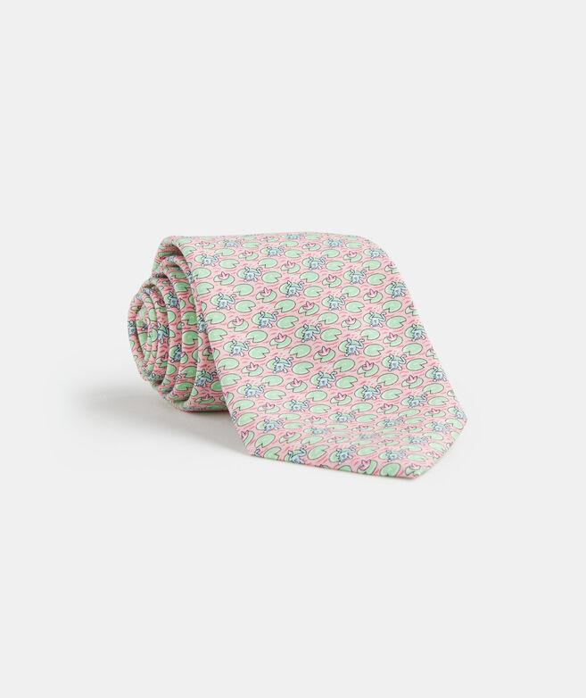 Frog Leap Printed Tie