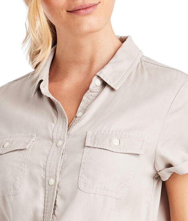Garment-Dyed Utility Jumpsuit