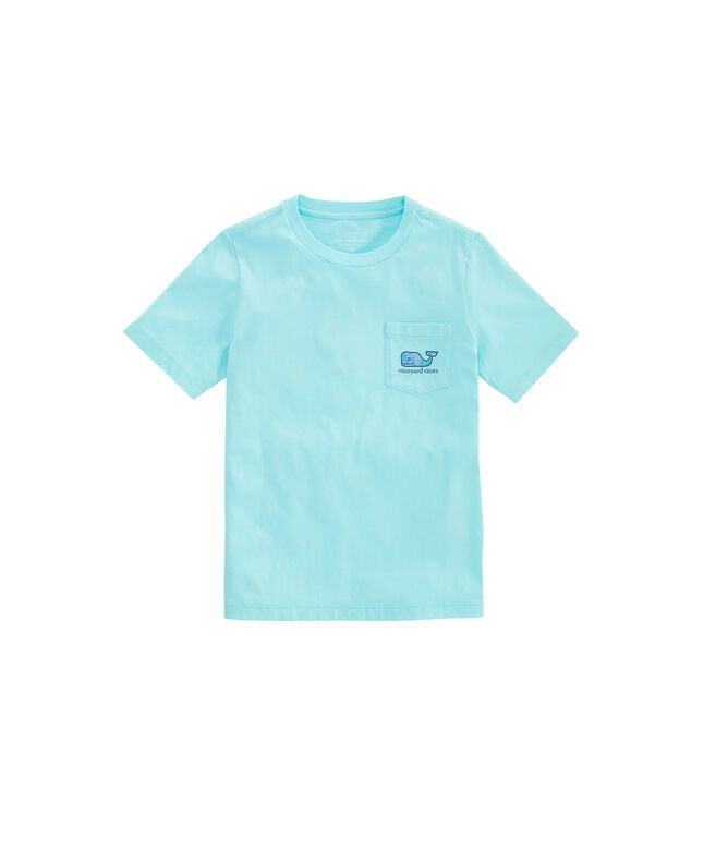 Boys Pelicans Whale Fill Pocket T-Shirt