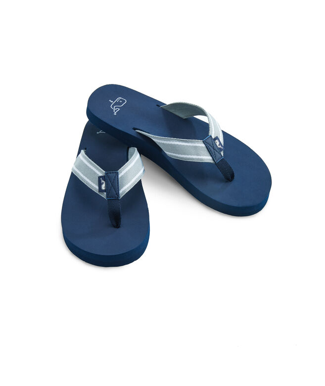 Sailor Stripe Flip Flops