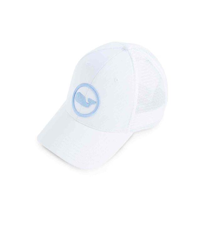 Womens Whale Dot Trucker Hat