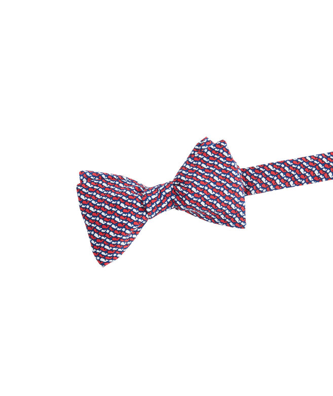 Whale Stars & Stripes Printed Bow Tie