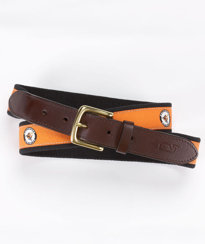 Baltimore Orioles Canvas Club Belt