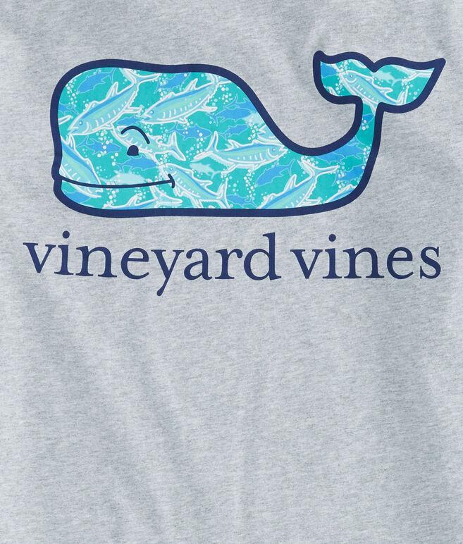 School Of Tuna Whale Fill Pocket T-Shirt
