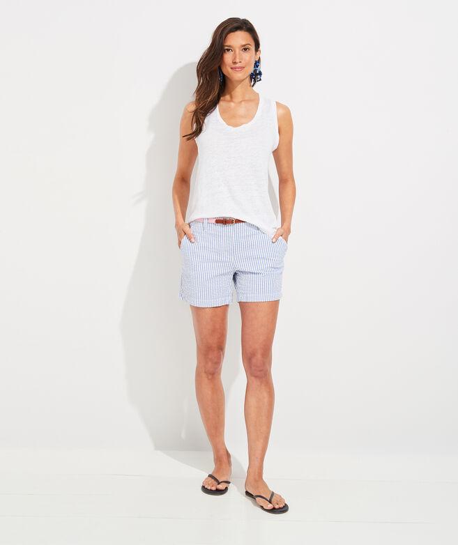 Seersucker 5 Inch Every Day Shorts