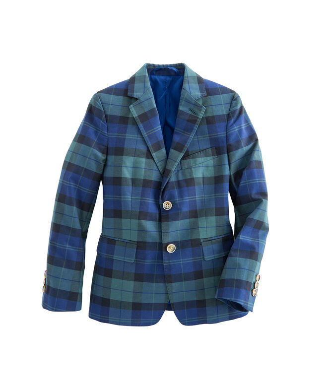 Boys Holiday Blackwatch Blazer (2T-7)